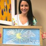 kugler vision lasik patient chalkboard