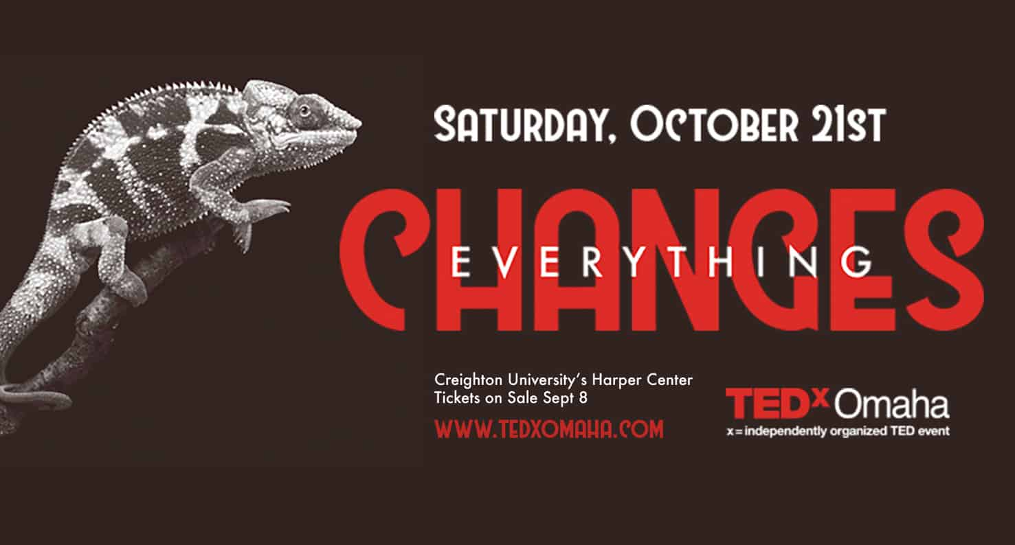 tedx omaha everything changes