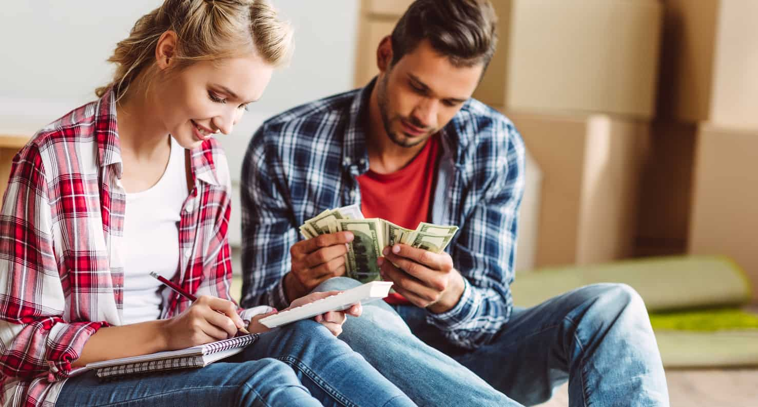 couple counting their hsa money