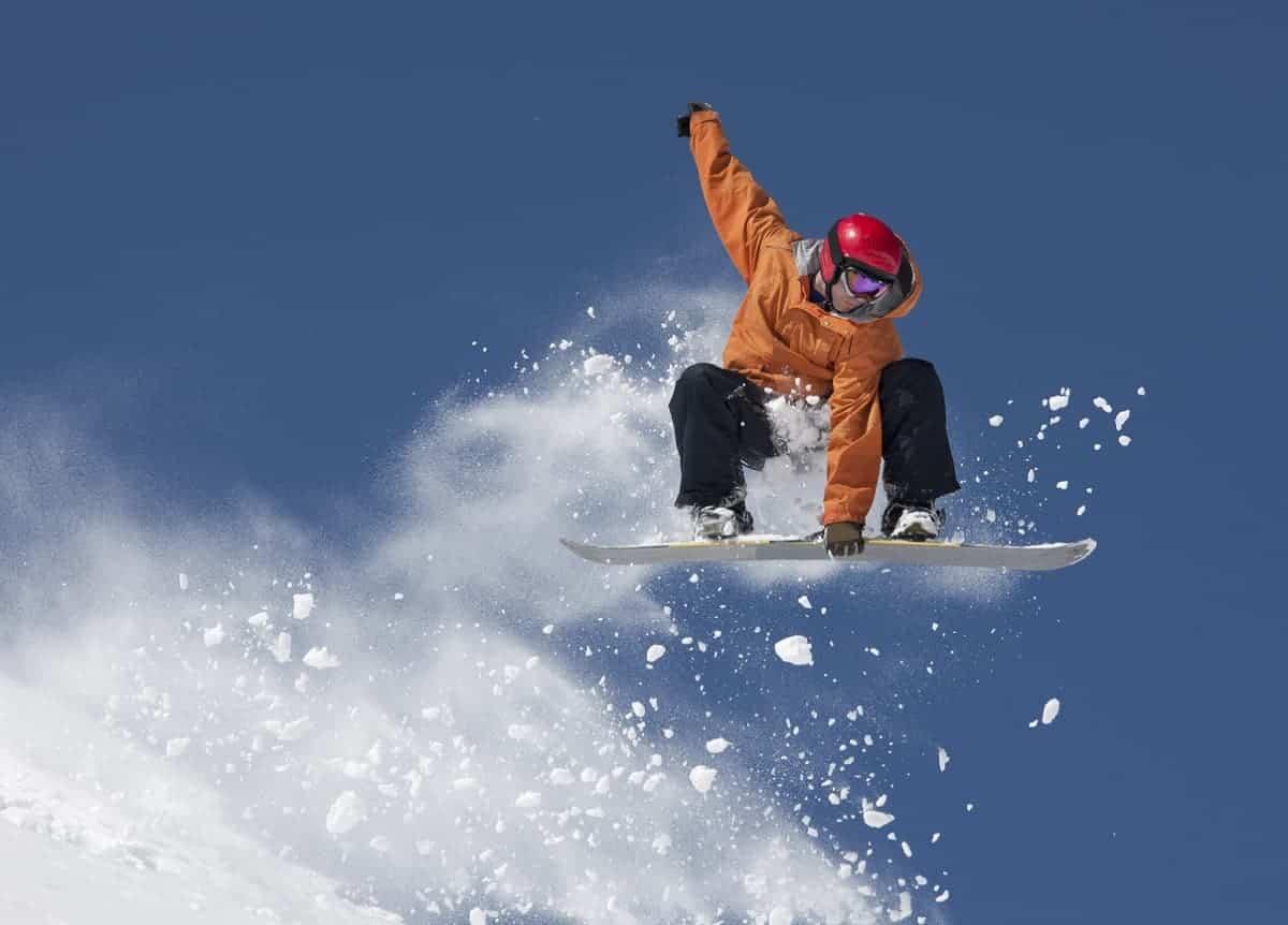 winter olympics snowboarding