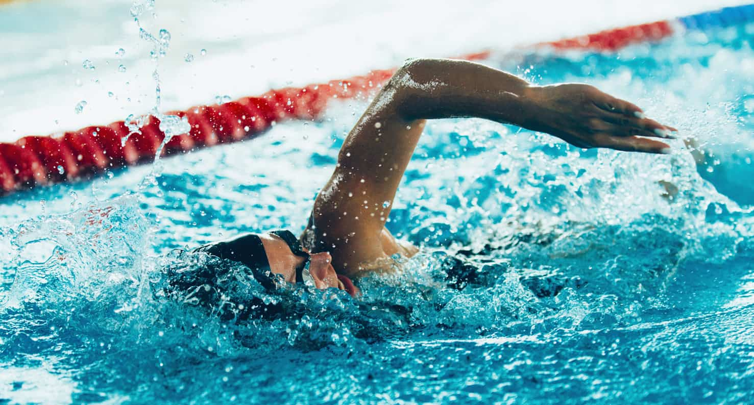 olympic swimmer who had lasik