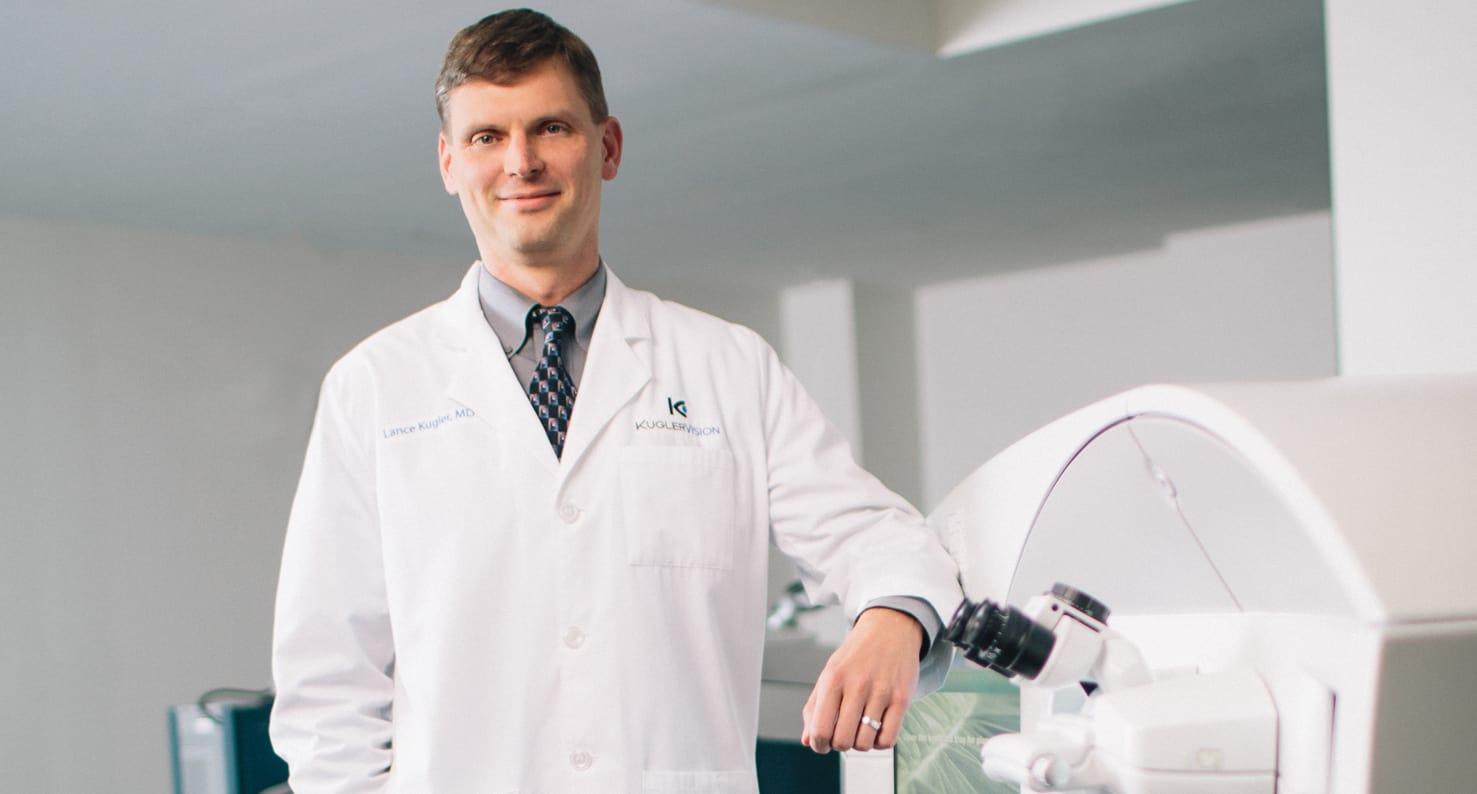dr. lance kugler at kugler vision in omaha