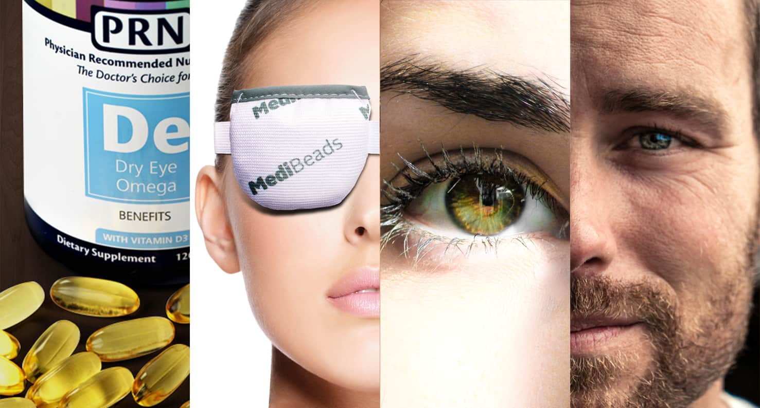 Compilation of various dry eye treatments