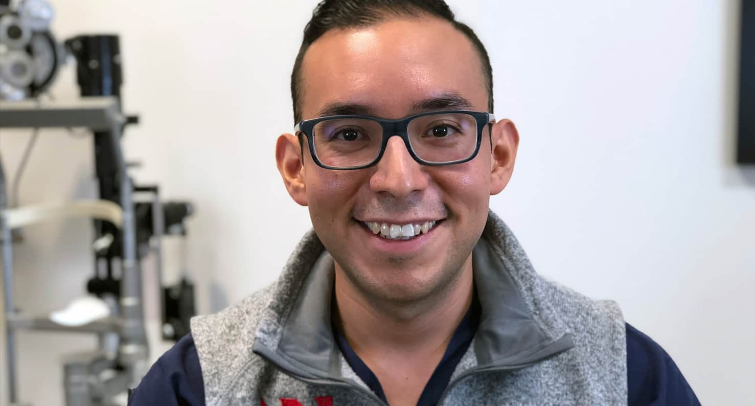 Dan Agraz, MD SMILE for astigmatism patient
