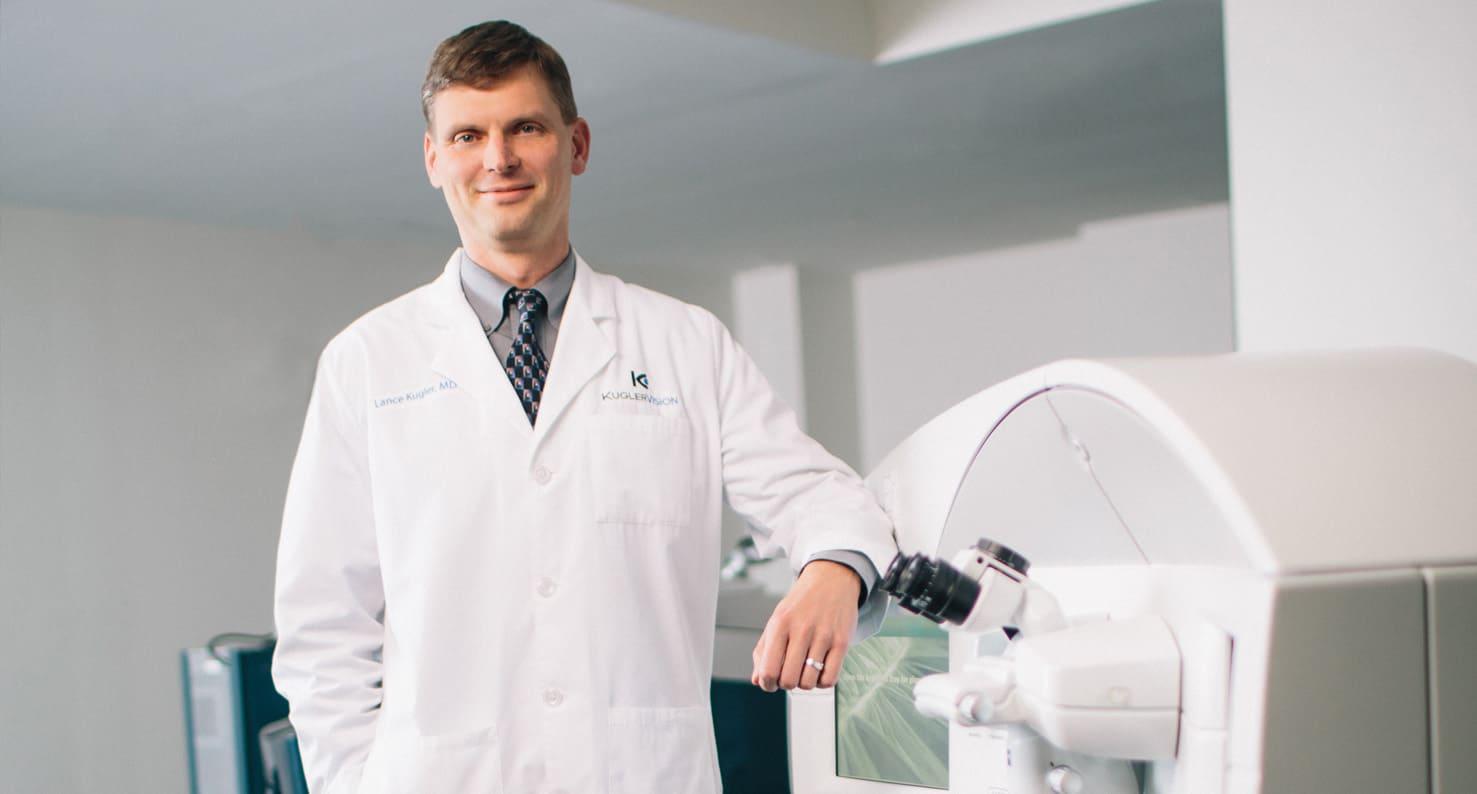 Dr. Lance Kugler of Kugler Vision