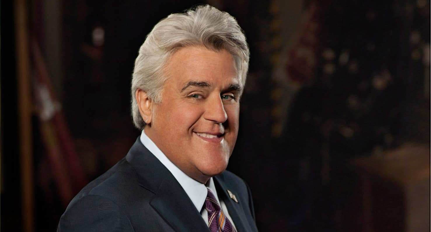 famous comedian and night show host Jay Leno